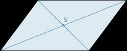 Symmetrieachse Parallelogramm